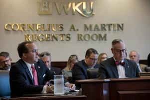 WKU Board of Regents met on Oct. 27.