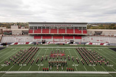 The Big Red Marching Band
