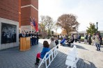 WKU ROTC conducted a Veterans Day wreath-laying ceremony on Nov. 10.