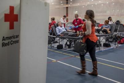 WKU vs. MTSU Blood Drive was held Nov. 13-15.