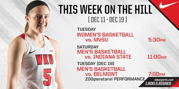 Upcoming Lady Topper and Hilltopper Basketball games