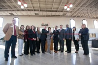 A ribbon cutting ceremony for the Center for Environmental and Workplace Health was held Nov. 29.