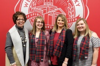 WKU Glasgow hosted its Graduand Reception on Nov. 30. (Photo by John Roberts)