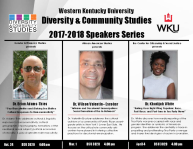 Diversity & Community Studies 2017-2018 Speakers Series
