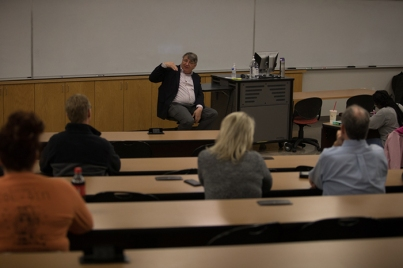Dr. Paul Alan Cox visited WKU on Feb. 13.