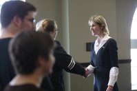 Kelly Craft, U.S. Ambassador to Canada, visited WKU on Feb. 15.