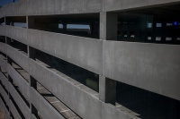 Ribbon cutting for Parking Structure 3 was held Feb. 26.