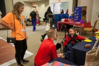 The Suzanne Vitale Clinical Education Complex hosted the Special Needs Expo on March 24.