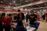 Student Health Fair was held March 28.