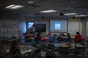 WKU students participate in a Gender & Women's Studies class.