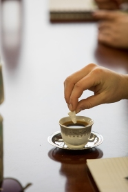 A coffee workshop was held April 3 as part of the International Year of Bosnia and Herzegovina.