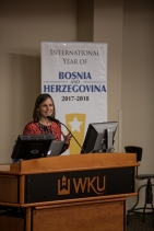 The International Year of Bosnia and Herzegovina hosted a presentation on April 5.