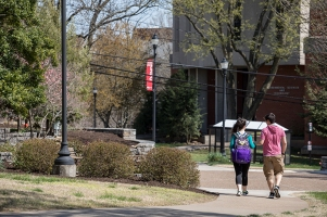 Spring on the WKU campus.