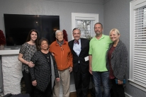 The grand opening of the Kelly M. Burch Institute for Transformative Practices in Higher Education was held April 23.