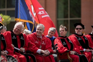 Scenes from the Investiture Ceremony for President Timothy C. Caboni