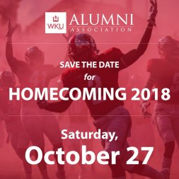 Homecoming 2018 has been set for Oct. 27. Game time and other details to be announced.
