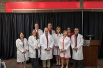 Doctor of Physical Therapy program held its white coat ceremony on May 4.