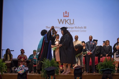 The Cynthia and George Nichols III Intercultural Student Engagement Center hosted a graduation celebration on May 9.