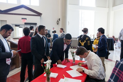 International Graduation Reception was held May 10.