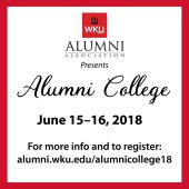 Alumni College will be held June 15-16.