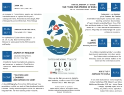 WKU will celebrate the International Year of Cuba during the 2018-2019 academic year.